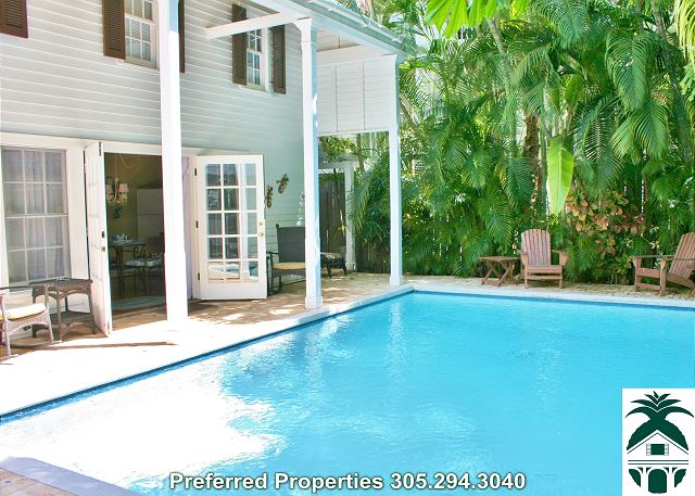 Key Lime Paradise -Private Pool-MONTHLY Vacation Rental - 1BD/1BA - Old Town