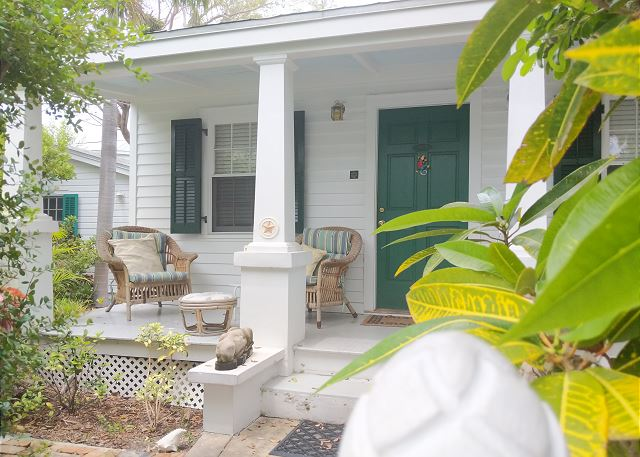 Casa Blanca, An authentic Key West 2BD/2BA home available for monthly rentals