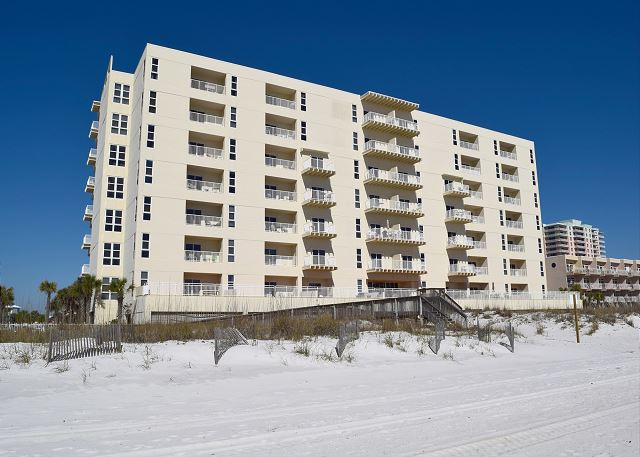 Sans Souci is a gulf front condominium.