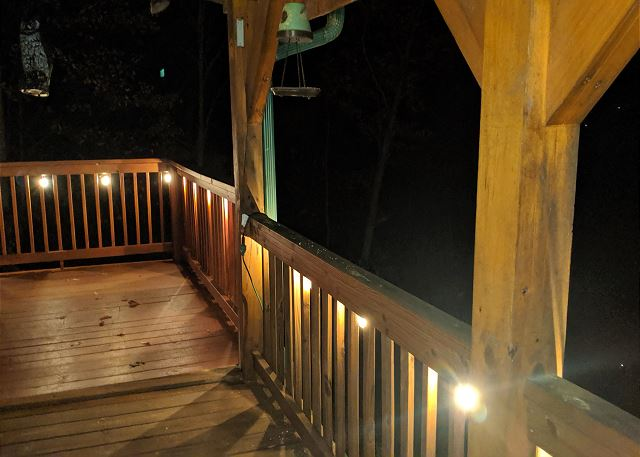 Outdoor Lighting on Porch