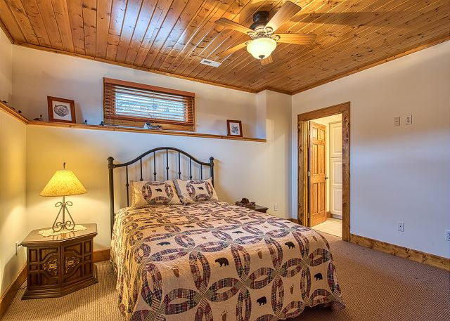 Downstairs Queen Bedroom with Private Bath