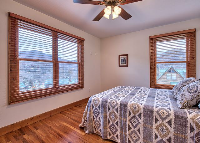 Guest Bedroom on Main Level with Queen Size Bed