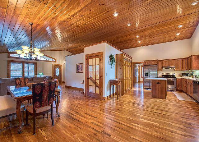 Lots of Wood Floors and High Ceilings