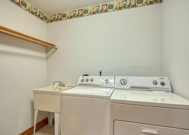 Full Size Laundry Facility