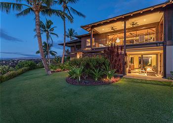 【ハワイ島】フアラライ・リゾート - ハリイプア・ヴィラ (Hualalai Resort - Haliipua Villa) #104