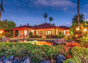 【ハワイ島】フアラライ・リゾート - カウハレ・ヴィラ (Hualalai Resort - Kauhale Villa) #105C