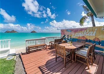 【一軒家・カイルア地区】モク・イキ・ラニカイ・ビーチ・ハウス (Moku Iki - Lanikai Beach House)