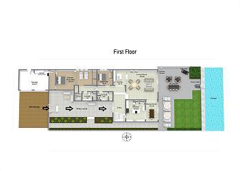 First Floor, Main House
