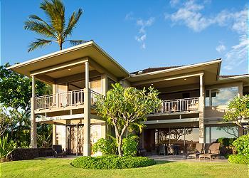【ハワイ島】フアラライ・リゾート - ワイウル・ヴィラ (Hualalai Resort - Waiulu Villa) #137D