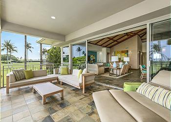 【ハワイ島】フアラライ・リゾート - フェアウェイ・ヴィラ (Hualalai Resort - Fairway Villa) #116D