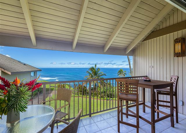 Relax on the lanai and enjoy
