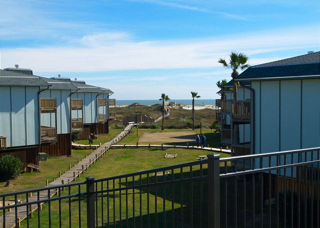 Located on the Gulf of Mexico, all units have views!