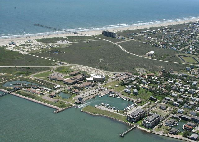 Areal view of Channelview