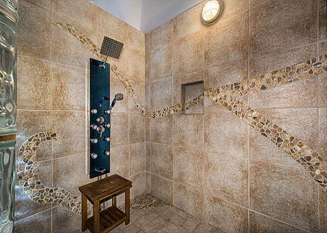 Master Spa Shower with Body Sprays
