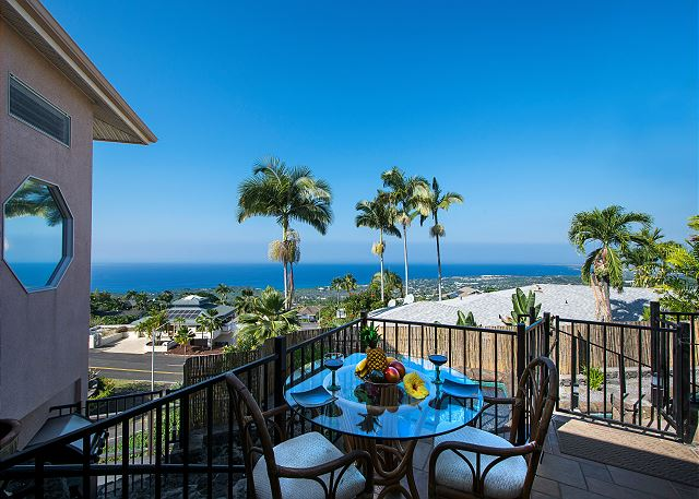 Kailua Kona vacation rentals featuring 4 BR 4 BA spectacular ocean views