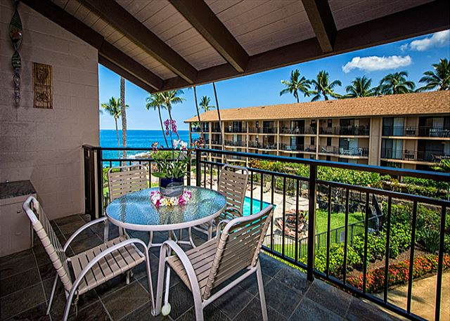 Kailua Kona vacation rentals featuring 2 BR 2 BA ocean view with a loft