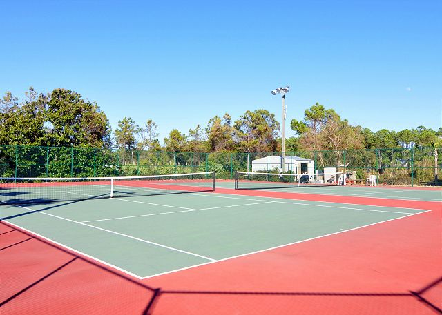 Community Tennis Court ~ Seagrove Beach, FL