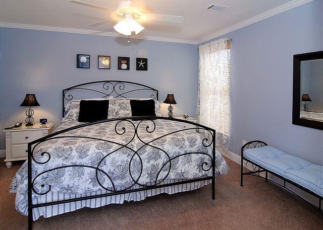 Carraige House King Bedroom ~ Seagrove Beach, FL