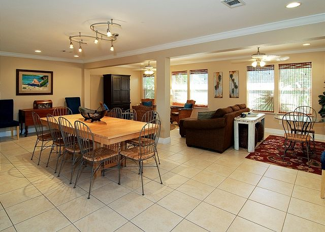 Main Dining Area Located on Second Floor ~ Seagrove Beach, FL