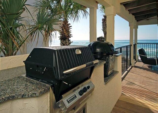 Veranda Grilling off Kitchen/Dining ~ Santa Rosa Beach, FL