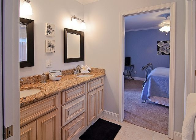 Carriage House Bathroom ~ Seagrove Beach, FL