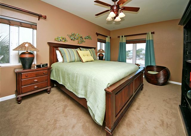 King En Suite Guest Bedroom ~ Santa Rosa Beach, FL