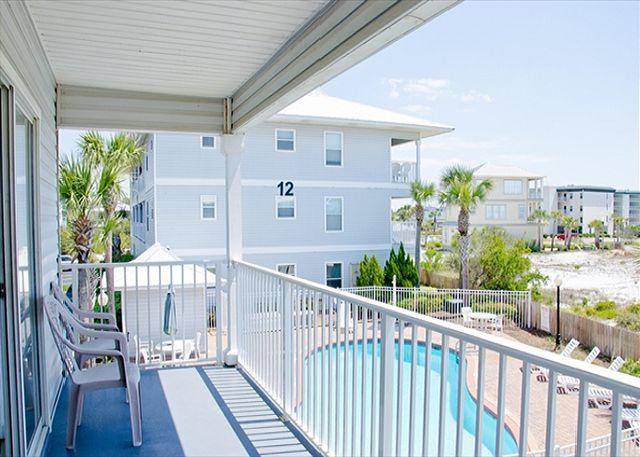 Balcony ~ Seagrove Beach, FL
