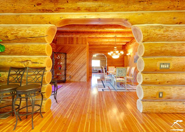 Exceptional Three Story, 6,000 Sq Ft Riverfront Cabin & Private River Access