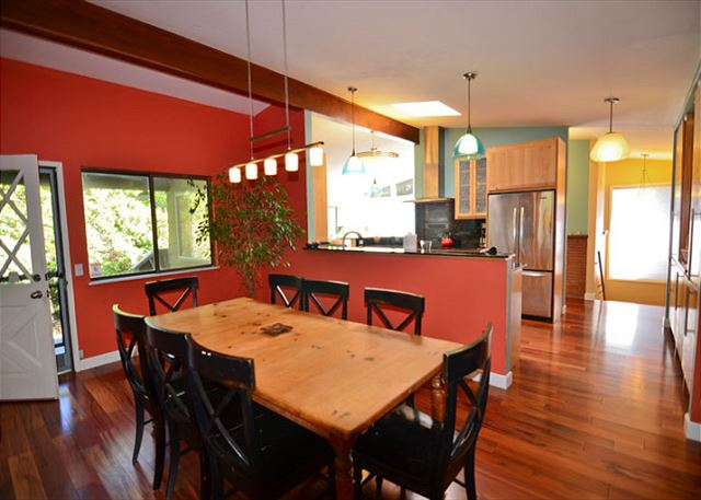 Large Dining Area Directly off of the Kitchen