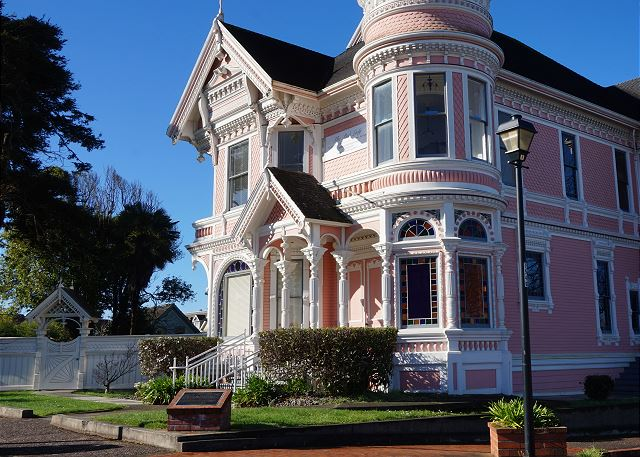 Famous Pink Lady - Classic Victorian Mansion -  Step into another time...