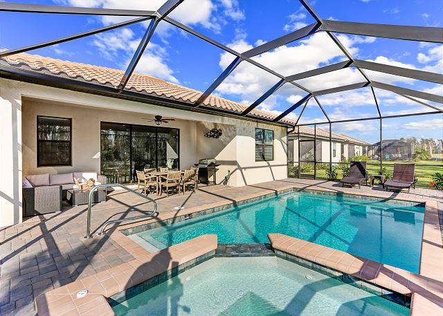 Brand new pool home with AMAZING amenities at The Place at Corkscrew!