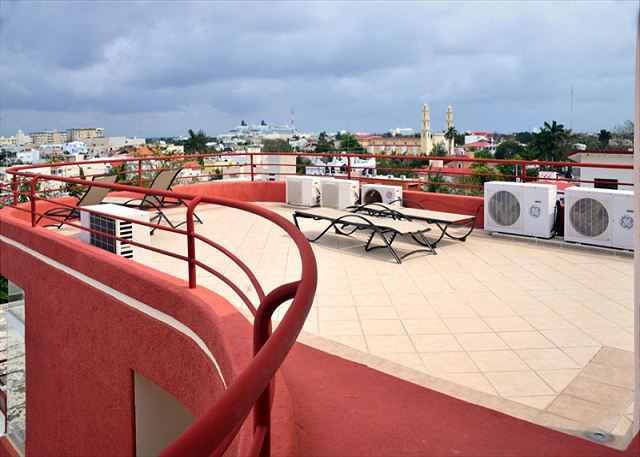Summer Breezes 3 Cozumel Rooftop Deck