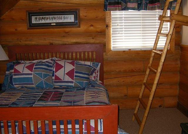 Bedroom 2 Upstairs Queen Bed