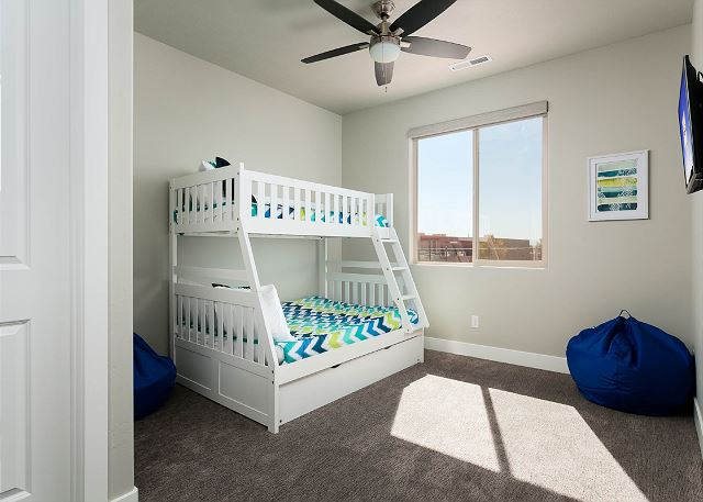 Bunk Room - Twin over double with twin trundle