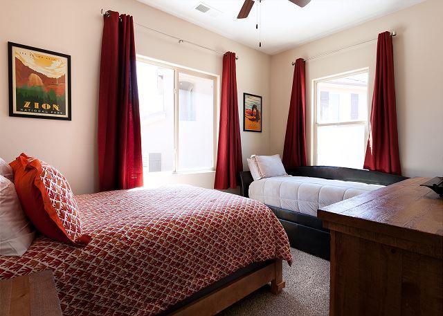 Bedroom 3 - Queen & Twin/trundle