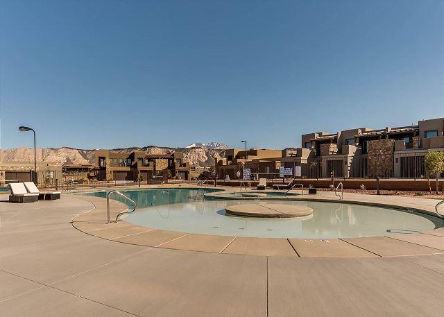 Kiddie pool area