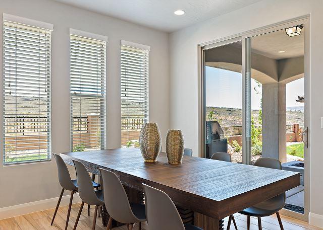 Dining room - patio