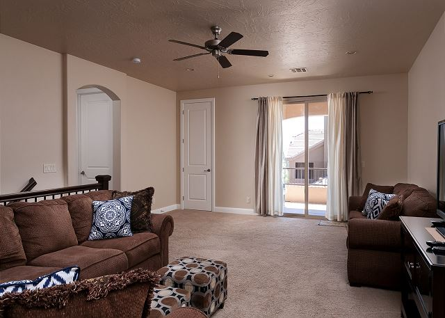 Family room - balcony access