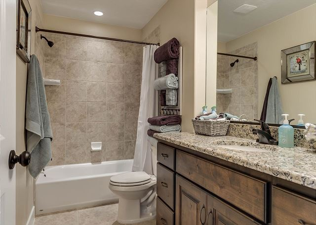 Main bath upstairs