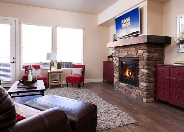Fireplace/Living Room