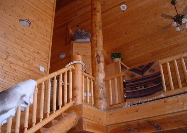 Stairs upstairs