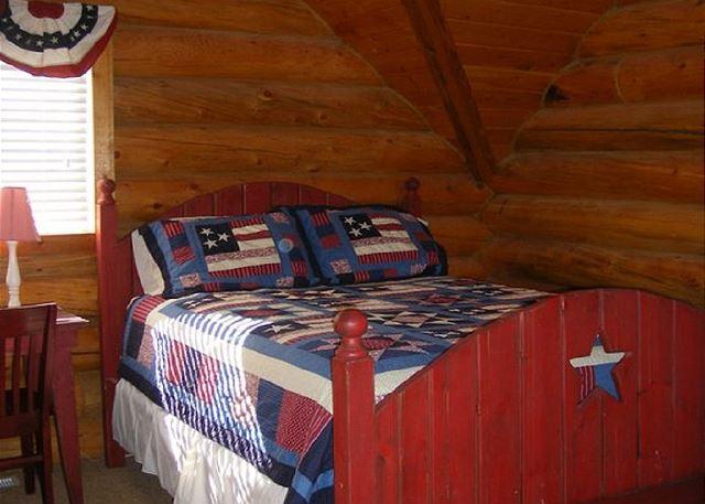 Bedroom 3 Upstairs Queen Bed