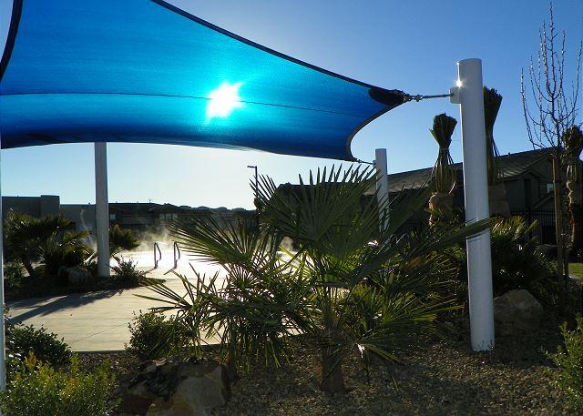 Pool shade area