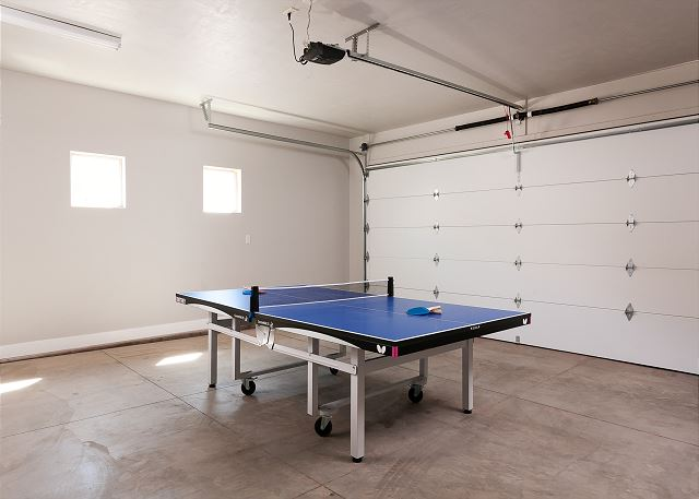 Ping Pong Table-Garage