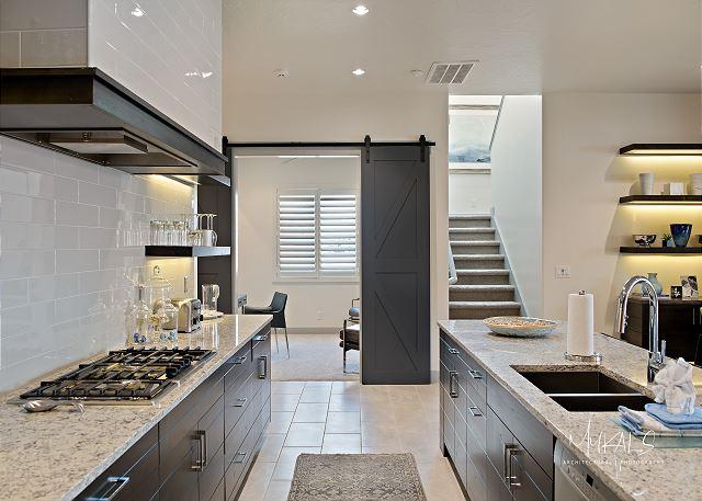 Kitchen/Den/Stairs