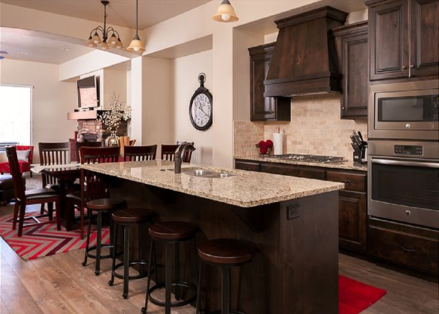 Kitchen/Dining  seating for 12
