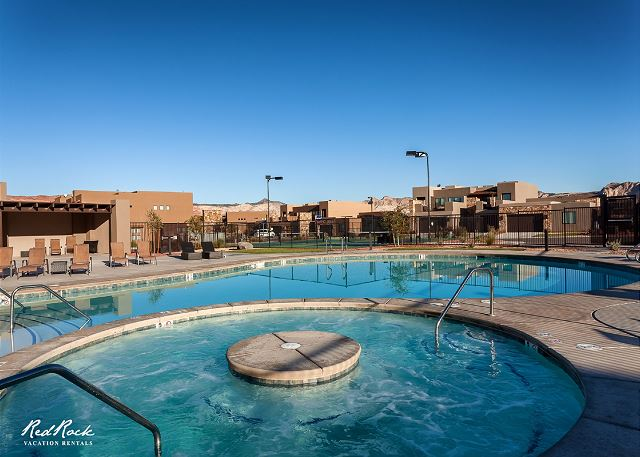 Community Pool and Hot Tub