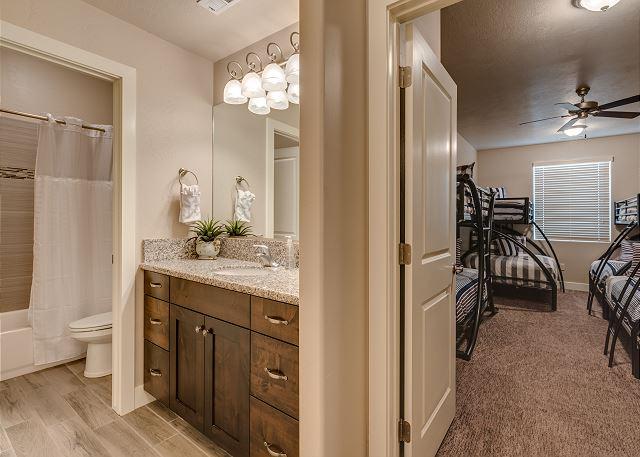 Bathroom Bunk Room