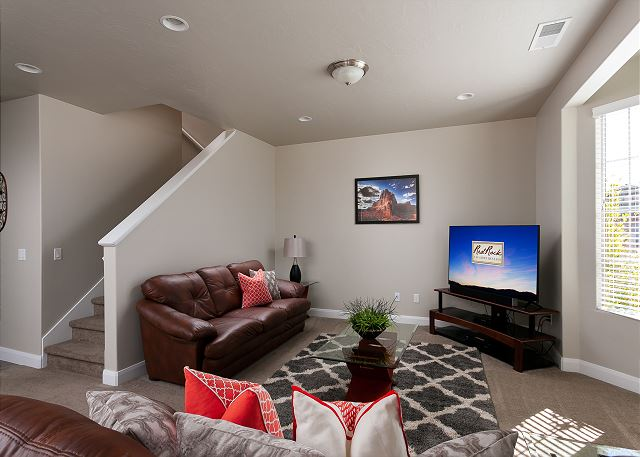 Living Room with TV/seating for 5