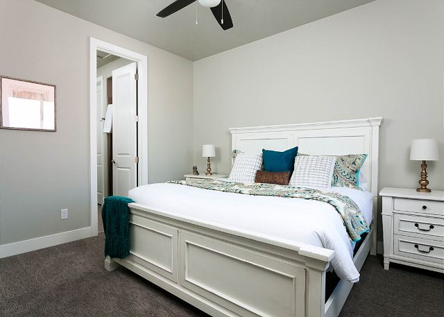 2nd Master Suite - upstairs King Bed